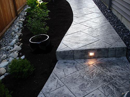 Vancouver Outdoor Concrete Lights