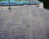 Flexcment Stamped Concrete Deck