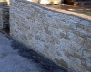 Flexcment Stamped Concrete Wall