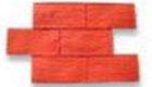 Herringbone Brick New Concrete Stamp