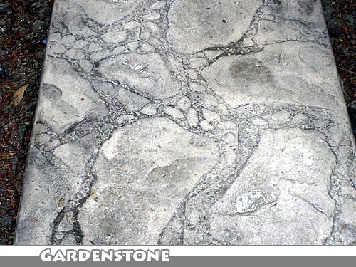Gardenstone Stamped Concrete Walkway